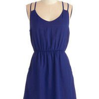ModCloth Short Length Spaghetti Straps A-line Make Way for Radiance Dress