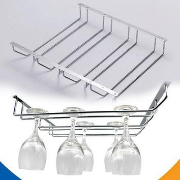 Wine Glass Rack Cabinet Stand Home Dining Bar Tool Holder NEW wbjjfC-160524127L24