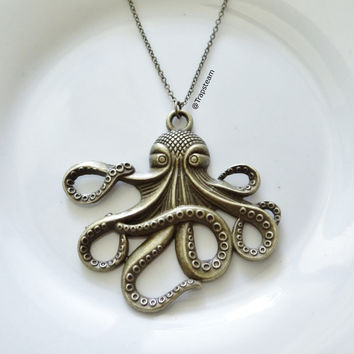 Tentacle Octopus Necklace