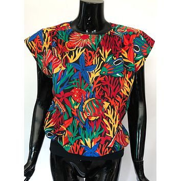80's Aquarium Top