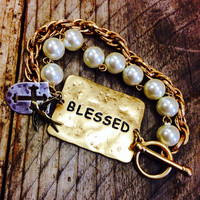 BLESSED PEARL BRACELET – LaRue Chic Boutique