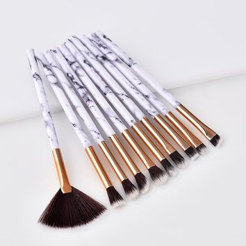 10pcs Professional makeup brushes Cosmetic Eye eyeshadow Foundation Powder Brush Pencil Cosmetics Make up brocha Set