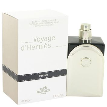 Voyage D'hermes Cologne By Hermes Pure Perfume Refillable (Unisex) FOR MEN
