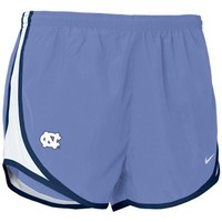 Nike North Carolina Tar Heels (UNC) Carolina Blue Ladies Tempo Shorts