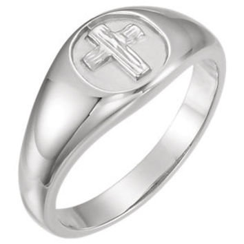 THE RUGGED CROSS CHASTITY RING W/BOX