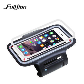 Phone Sports Bag Running Cover For iPhone 5 5S SE 6 6S 7 Plus Arm bands Phone Case Adjustable Gym Arm Band Holder Coque Fundas