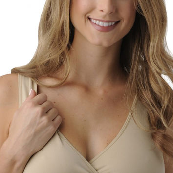 B.D.A. Maternity & Nursing Bra | Before, During, & After {Nude}