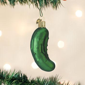 I'm a Bit of a Big Dill Pickle Holiday Ornament