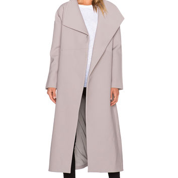 TY-LR The Bonython Coat in Stone