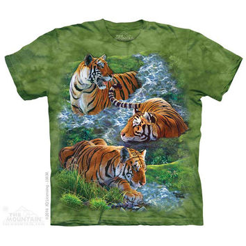 Water Tiger Collage Kids T-Shirt