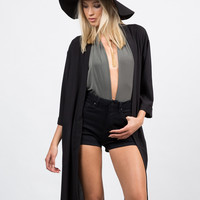 Envelope Back Slit Jacket
