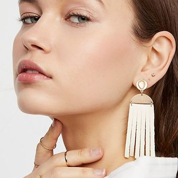 Western Leather Earrings