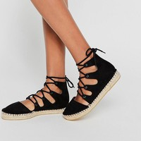 ASOS | ASOS JOLT Lace Up Espadrilles at ASOS