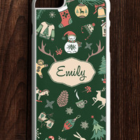 Personalized Christmas iPhone 6S Case, Christmas iPhone 6 Case, Christmas iPhone 5s Case, Chistmas iPhone 6 Plus, Christmas Gift iPhone Case