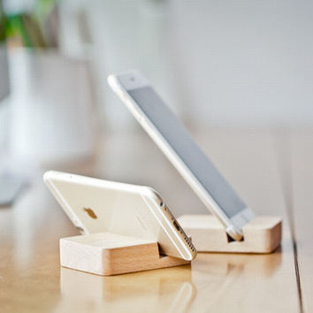 Wood Stand For Mobile Phones