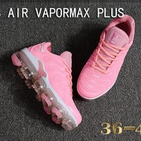 Nike Air Vapormax Plus Tn Ultra White Pink VM Running Shoes - Best Deal Online