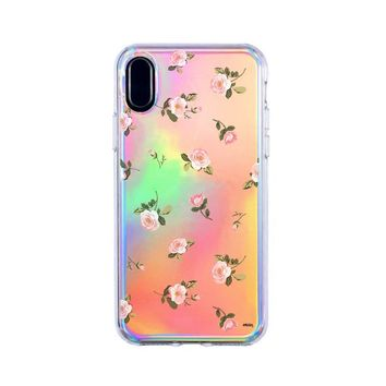 Holographic iPhone Case Cover - Blush