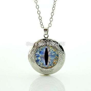 Classic Collection supernatural accessories Best Deals Ever Frost Dragon Eye pendant  fashion  eye locket necklace N1047