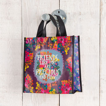 "Medium Gift Bag ""Friends Like You Are Precious and Few"" by Natural Life"