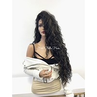 Black Blonde Wavy Lace Front Wig - Gold Revenge 121733*