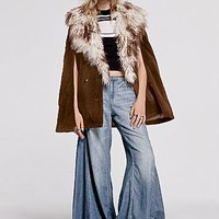 Free People Womens Around the Cape Jacket