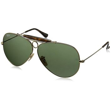 Ray-Ban Men's 0RB3138 Aviator Sunglasses