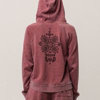 ROXY True To Life Womens Zip Hoodie