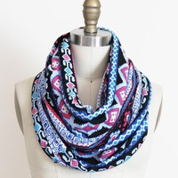 Geometric Tribal Multi Color Scarf .. on Luulla