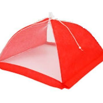 "Patriotic Food Tents 17"" (Red)"