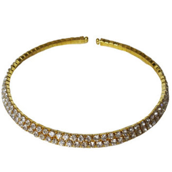 Bling Bling Choker Set in Gold