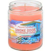 Smoke Odor Exterminator Candle Miami Sunrise