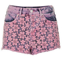MOTO Pink Crochet Hotpants - New In This Week - New In - Topshop USA
