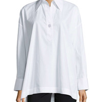 Oversize Stretch One-Button