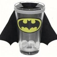 Batman Glass Mug - Caped