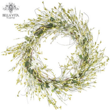 Morning Glory Wreath | Hobby Lobby | 1092782