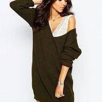 Boohoo Jumper Dress