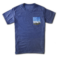 Mountain View Pocket Tee