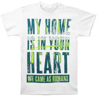 We Came As Romans Men's  My Home Your Heart T-shirt Red