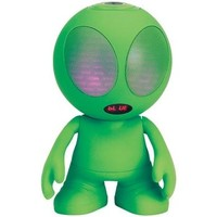 Supersonic Bluetooth Portable Green Alien