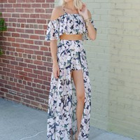 Floral Two Piece Short Set
