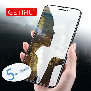 GETIHU Nano Screen Protector Full Protective Film For iphone X 8 7 6 6s Plus Screen Protector For iphone 8 7 6 No Tempered Glass