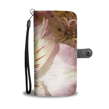 Lily Flower RFID Wallet Case