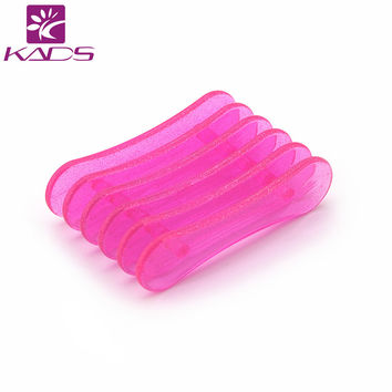 KADS Brush Plastic Pen Holder Stand Rest Acrylic Tools Nail Art Sand Bar Nail File For Holding Pen Nail Art Brush