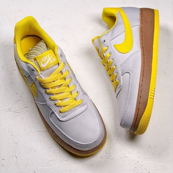Nike Air Force 1 '07 TXT Yellow Casual Shoes