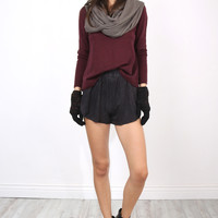 Decker Luxe Everyday Pullover - Bordeaux