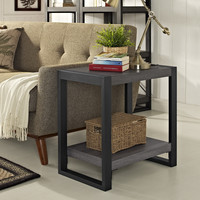 """24"""" Side Table - Charcoal"""