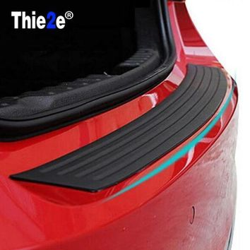DCCKFS2 Car Rubber Rear Guard Bumper Protector Trim Cover car sticker plate for Mazda CX-5 CX-7 CX-3 CX-9 mazda3 mazda6 mazda2 CX-5
