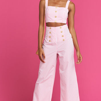 Stacie Sailor Pants ~ Skipper Stripe