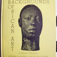 Backgrounds of African Art by Herskovits Denver Art Museum Limited Edition