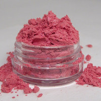 Mineral Eye Shadow Aurora coral color shimmer mica powder shadow 3 gram sifter